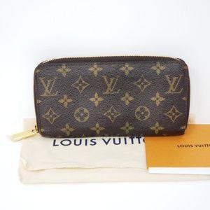 100% Auth Louis Vuitton Zippy Wallet New Zipper